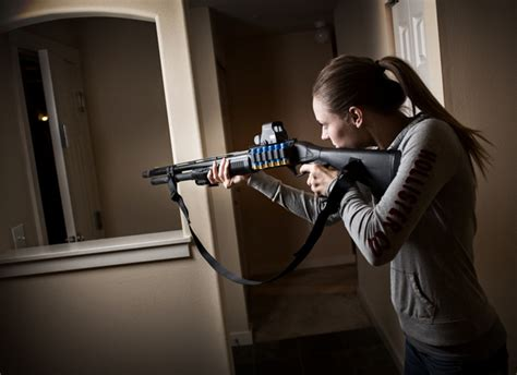 home defense weapons meet that intruder with might