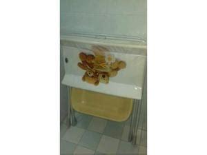 fasciatoio con vasca bagnetto con sostegno vasca come capriolo posot class