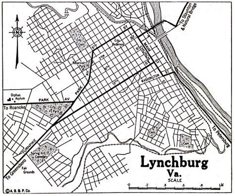 map of lynchburg virginia virginia maps perry casta 241 eda map collection ut