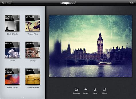 Snapseed Tutorial For Ipad | snapseed on the ipad advanced photoshop free photoshop