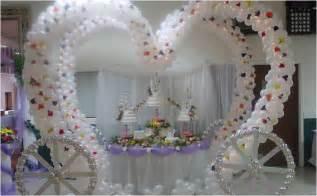Adornos de globos para boda imagui