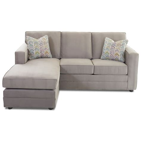 klaussner berger chaise sleeper sofa with size air coil mattress furniture mart colorado