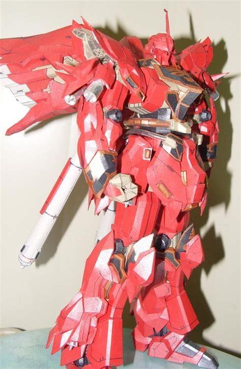 Gundam Papercraft Pdf - gundam papercraft msn 06s sinanju
