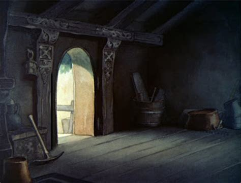 Snow White And The Seven Doors by Animation Backgrounds September 2008