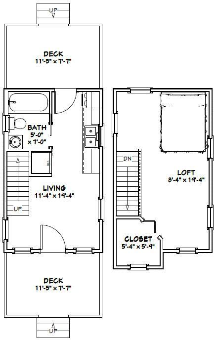 12x28 tiny house 12x28h8a 756 sq ft excellent floor plans 177 best images about small house plans on pinterest