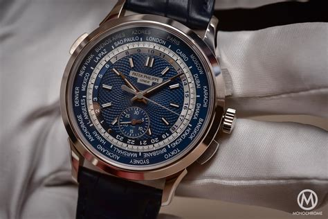 For New Cronograph patek philippe 5930g world time chronograph baselworld