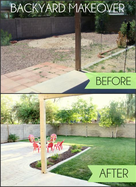 backyard makeovers before and after backyard makeover