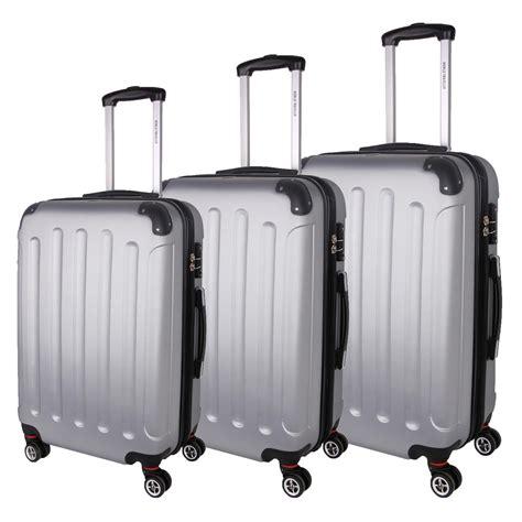 World Traveler 3 world traveler milan 3 hardside spinner luggage set