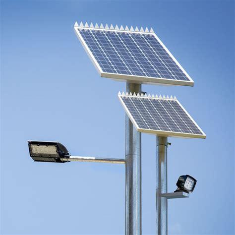 Solar Light Pole by Led Solar Pole Light Ultralux