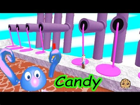candy monsters!! roblox video game cookieswirlc let's play