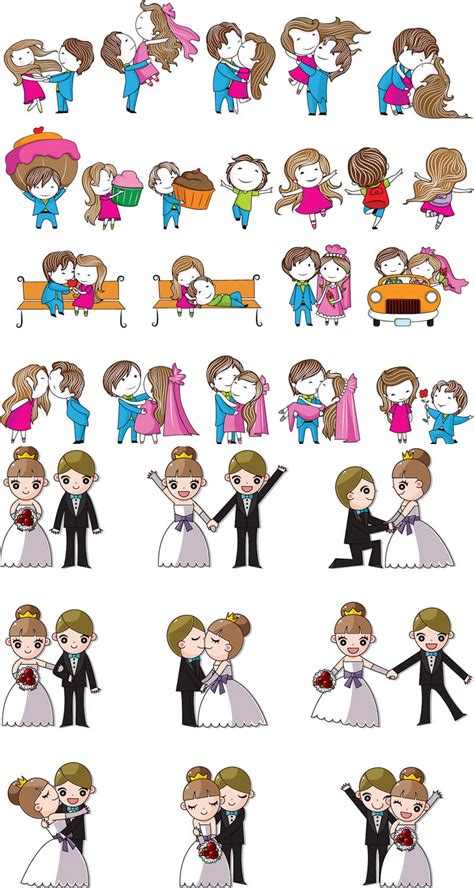 wedding design elements vector free cartoon wedding images cliparts co