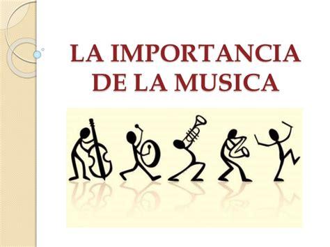host la importancia de la importancia de la musica
