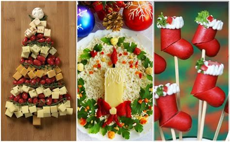 20 stylish and most creative christmas food decorating ideas