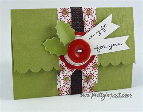 gift card holder template craftdrawer crafts make last minute gift card holders