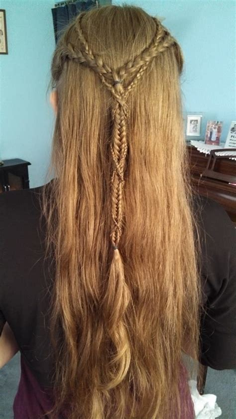 Diy Elven Hairstyles | elvish braids awesome ways to do your hair pinterest