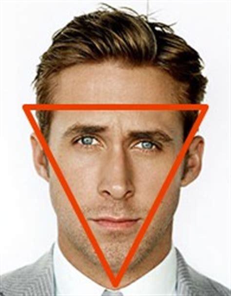 inverted triangle face shape men pear face shapes men www pixshark com images galleries