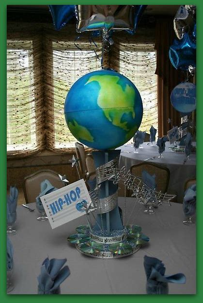 globe centerpieces globe of the world centerpiece for a green centerpieces world green