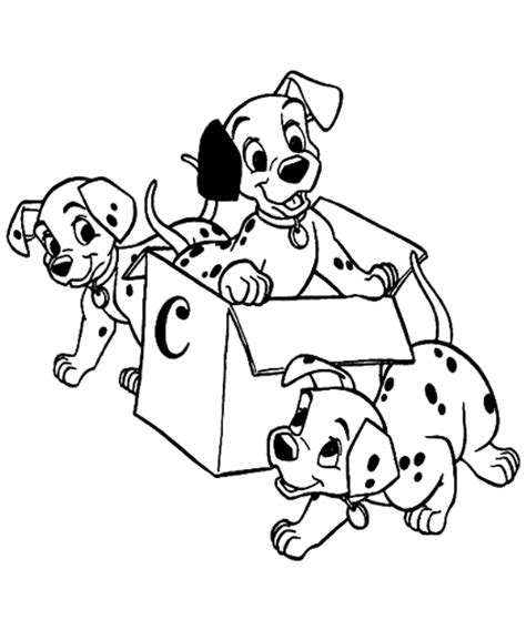 May 2013 Activities Children Coloring Pages 101 Dalmatians