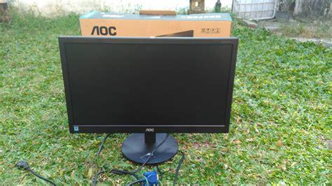 Monitor Bekas Aoc jual monitor led aoc e2070sw bekas monitor komputer aoc harga spesifikasi