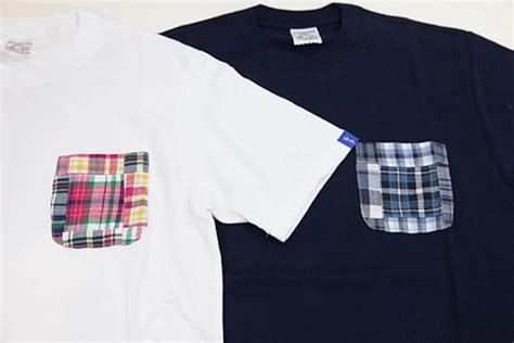 Patchwork Madras Shirt - loopwheeler madras patchwork t shirt freshness mag