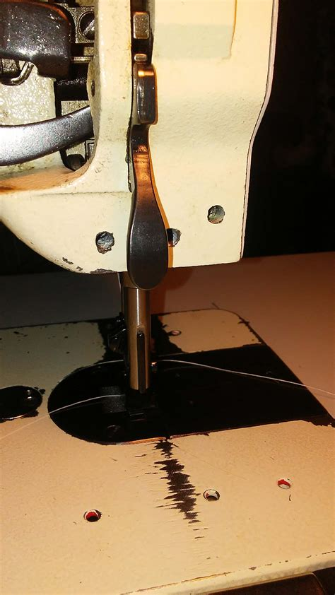 back swing machine swing up edge guide consew 226r leather sewing machines