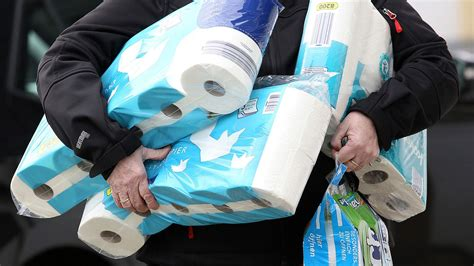 adelaide man   sell  stockpile   toilet rolls  supermarkets