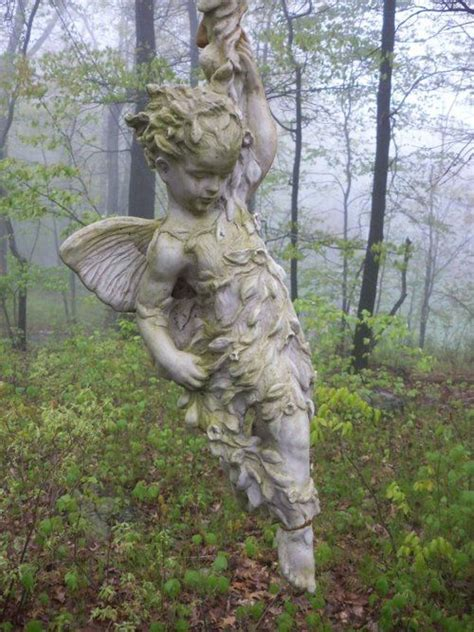 fairy garden statues angel gardens and fairies on pinterest