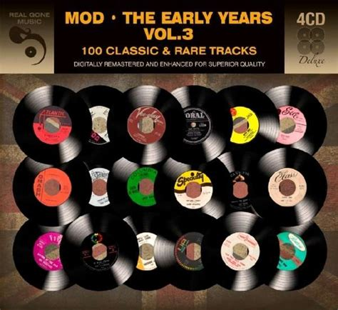 Cd Jazz Early Days Vol 2 As As It Gets Import 2 Cd Set New 1 mod the early years vol 3 4 cds jpc