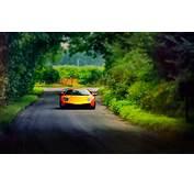 Wallpaper Lamborghini Murcielago Road Alley