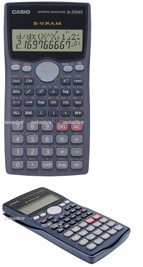 Kalkulator Casio Ms 20uc casio fx 570ms 2 line display scient end 3 27 2019 4 40 pm