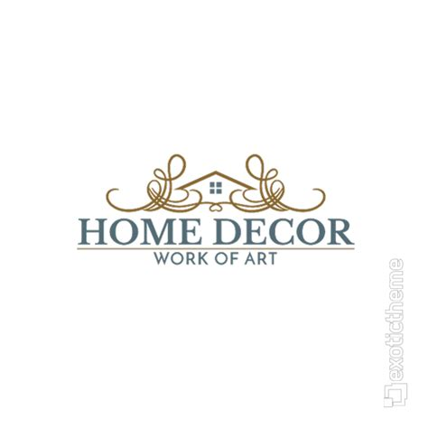 home interior design logo home decor logo exotictheme