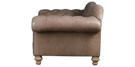 Chesterfield Sofa Cushions 2 Seater Chesterfield Sofa In Leatherette Upholstery With Cushions