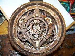 Free Wooden Clock Plans Pdf by Wooden Gear Banjo Clock