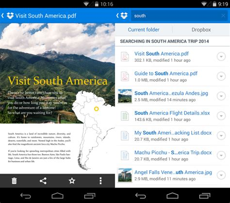 Search For In Dropbox Dropbox Visualizza I Documenti Su Android Webnews