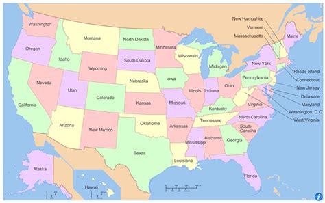 united states united states map