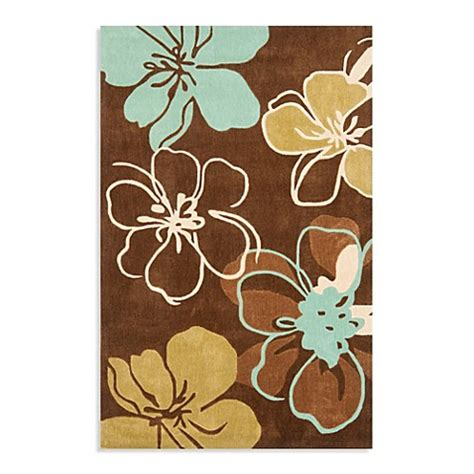 brown and teal rugs modern rug collection in brown teal bed bath beyond