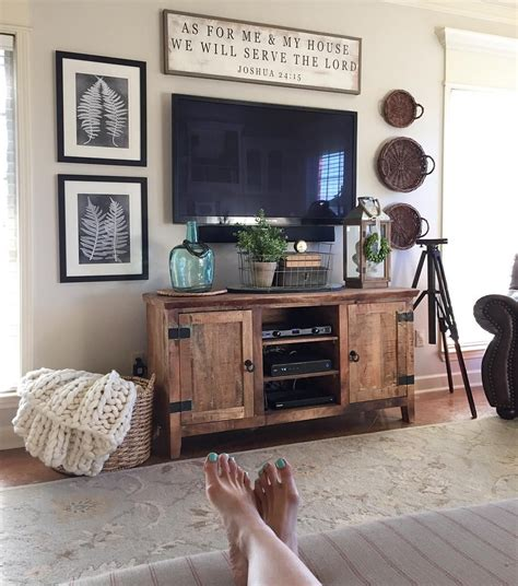 Above Wall Decor Ideas by Decorating Around Tv Something And Narrow Above And