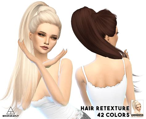 cc hair for sism4 my sims 4 blog skysims hair retexture for females by