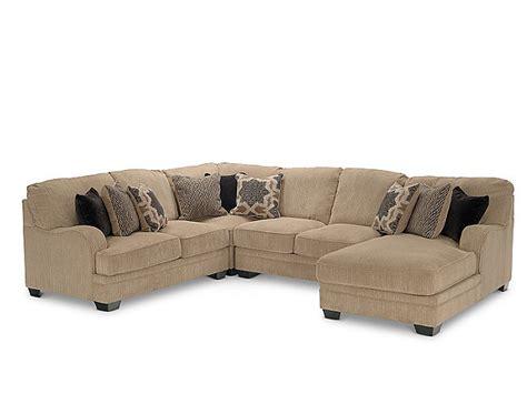 hom furniture sectionals tisha 4 piece sectional hom furniture