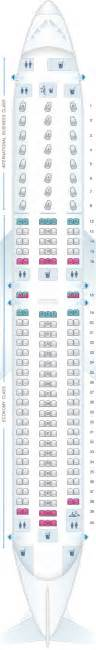 air canada 767 seat map plan de cabine air canada boeing b767 300 layout 1