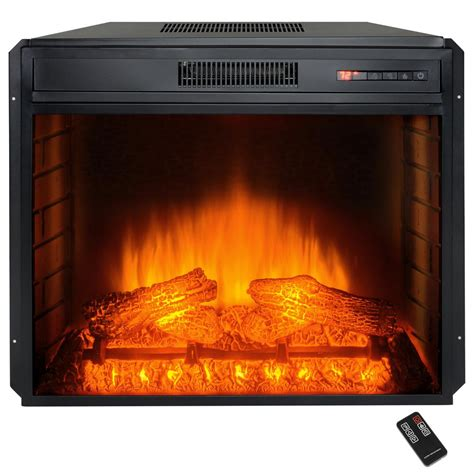 akdy 28 in freestanding electric fireplace insert heater