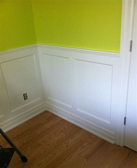 Ready Made Wainscoting Panels Elite Wall Paneled Wainscoting 8 Ft Kit 38 Quot High A