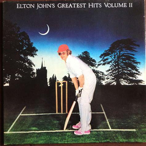 elton john zoom greatest hits volume 2 by elton john lp gatefold with
