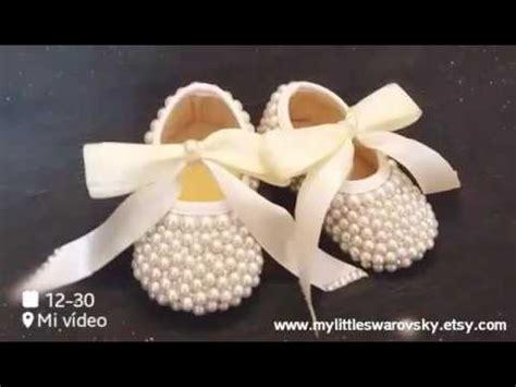 decorar zapatos con perlas zapatos ni 241 a swarovski y perlas color ivory bautizo boda