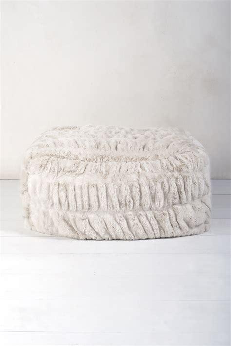 faux fur pouf ottoman faux fur pouf p015