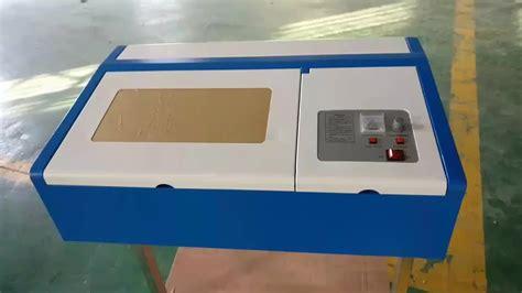 40w Co2 Laser Cutter K40 Laser Engraver Software Mini