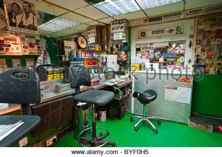 tattoo shops in queen street mall interior of a body shop england uk stock photo royalty