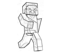 free minecraft coloring pages free coloring pages of minecraft skin
