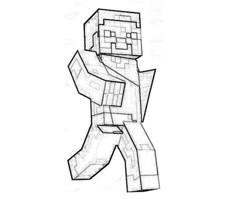 minecraft pumpkin coloring pages free coloring pages of minecraft skin