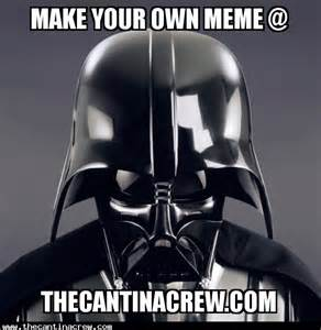 Make a meme the star wars meme generator